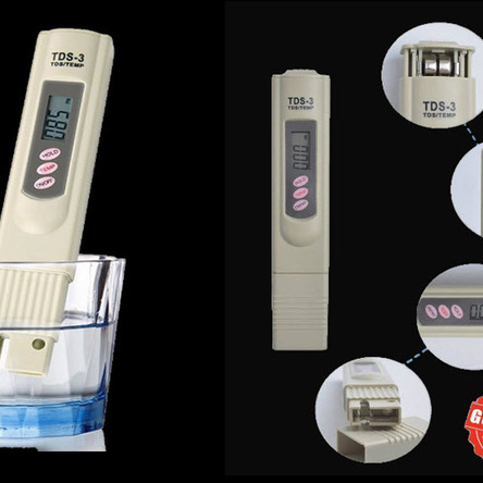 Digital LCD TDS Meter Waterfilter Tester for measuring TDS3 / TEMP / PPM New