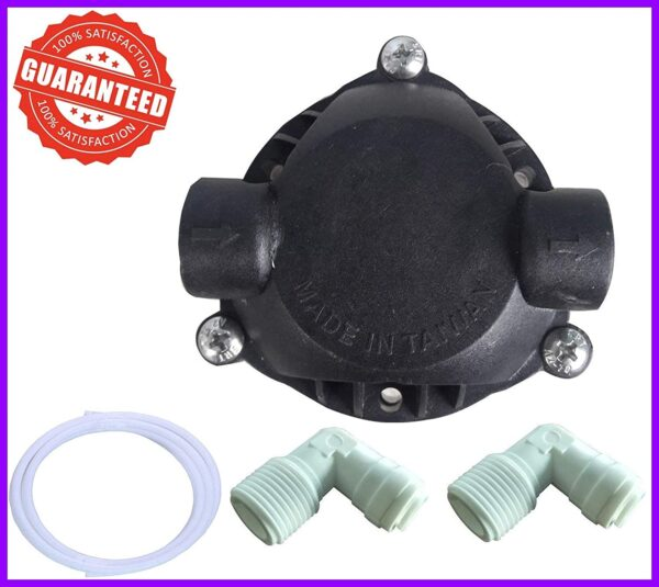 Ro Pump Head Booster Pump Head With 2 Elbow + Pipe Tube New