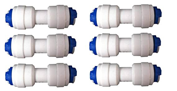 Straight Connector JointerBoth Side Push Fit for Type of RO Water Filters