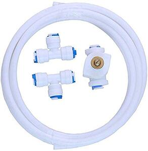 Generic TDS Adjuster/Controller Full Kit for RO Water Purifier Imported TDS Controller, 2 Tee & Connecting Pipe