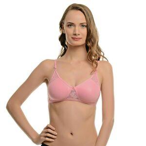 Khusboo New Bras 100% Cotton Soft Cup Bra Unpadded Push Up Wire Free Underwear
