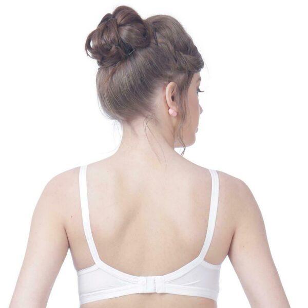 Fabina Seamless Push Up Bra Cotton lingerie Underwear Bra Unpadded Wirefree Bra