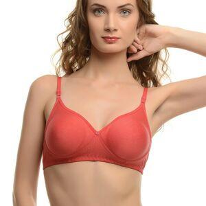 Lkme New 100% Cotton Bra Women's Wireless Bra Wire Free Unpadded Cup Size B