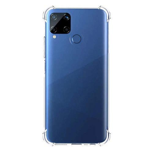 Vstec OO LALA JI Back Cover for Realme C15 (Transparent)