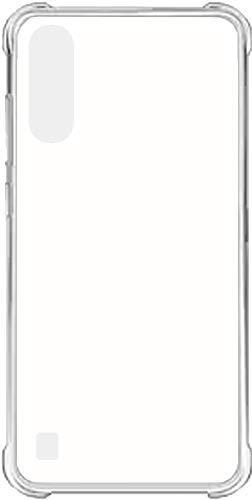 Vstec OO LALA JI Drop Tested Shock Proof Slim Mobile Cover (Soft & Flexible Shockproof Back Case with Cushioned Edges) for V20 Se (Transparent)