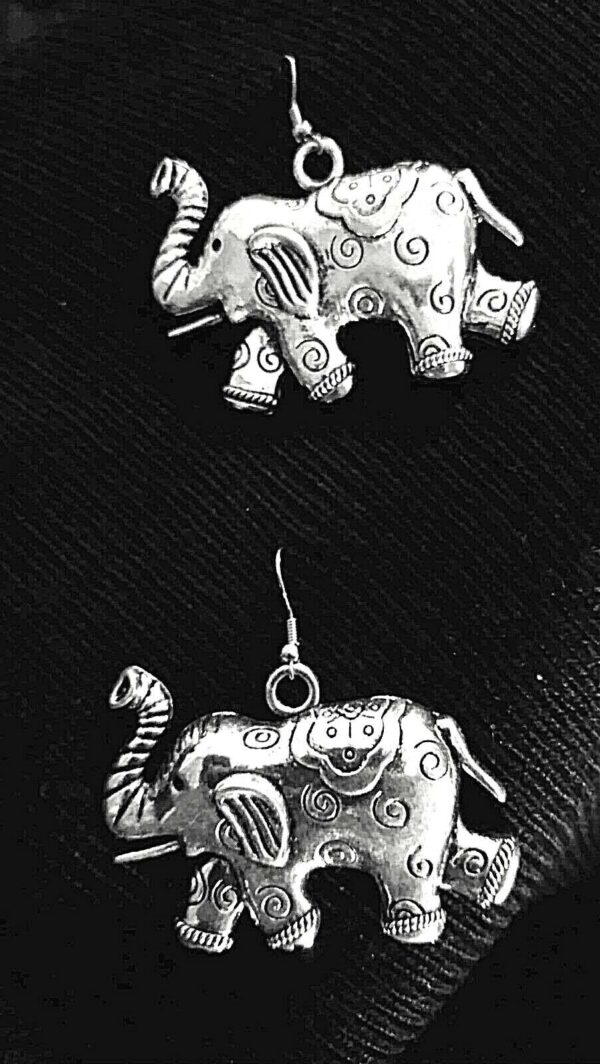 Indian Jhumki Mugal Jhumka German Silver Plated Oxidized Bollywood Traditional