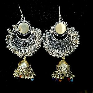 Indian Dula Tone Gold / SIlver Silver Plated Oxidized Bollywood Traditional