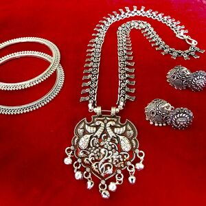 jewelry set necklace earring bangle With necklace Turkish gypsy bohemian tribal