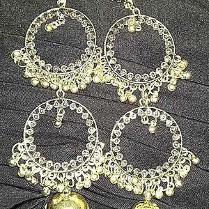 Retro Indian Bollywood Ethnic Jhumka Jhumki Drop Earrings Gypsy Fashion Jewelry