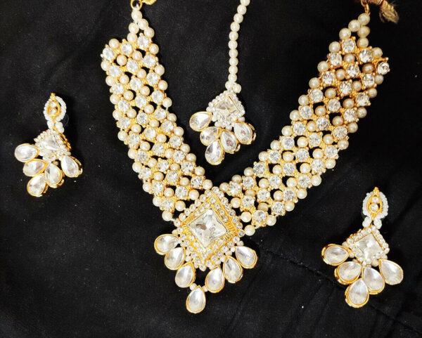 Hyderabadi Jewelry Jewelry Choker Set,Pakistani Jewelry,Nizam Jadau Jewelry, ...