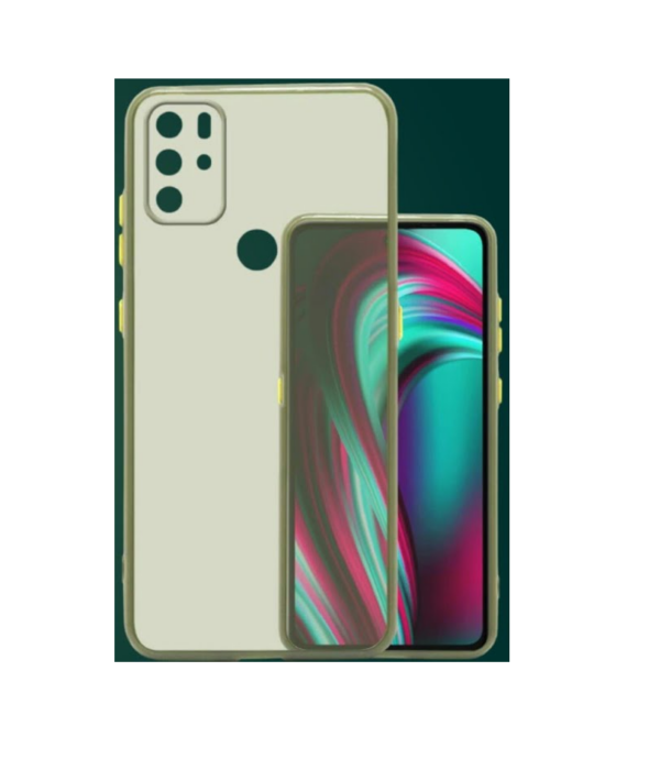 Micromax Note 1 Smoke Cover Cool Green